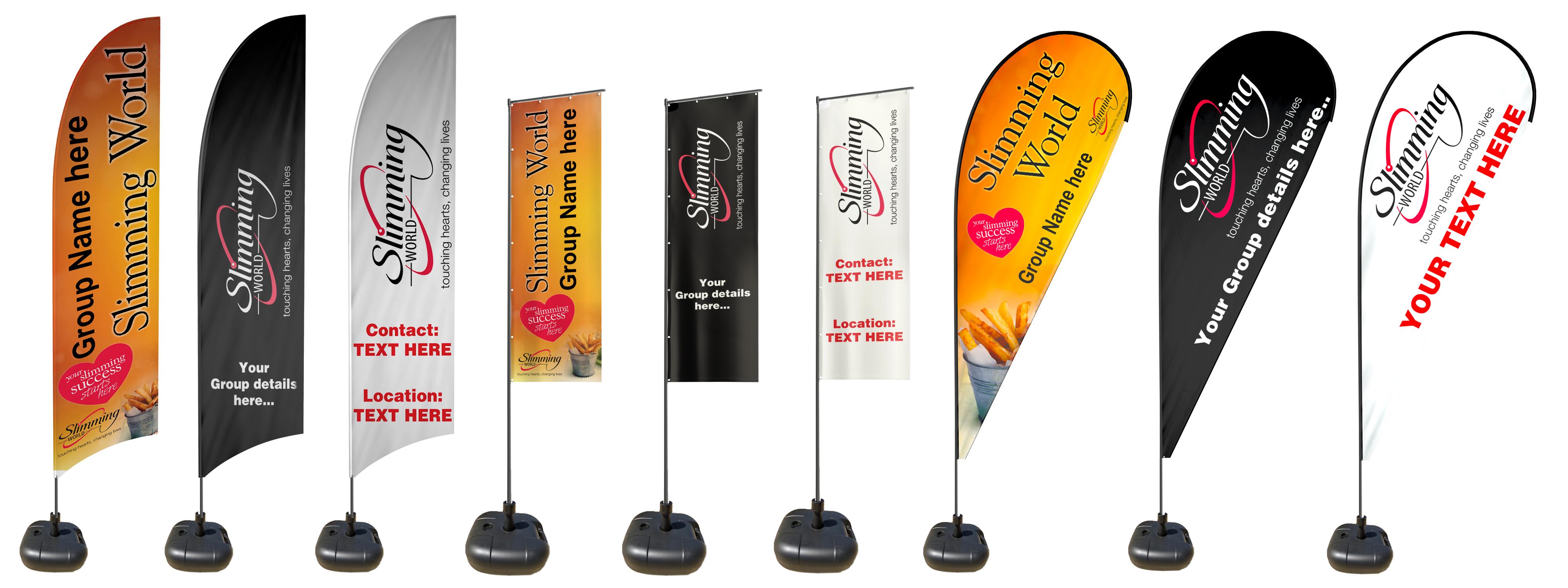 Custom Slimming World Flags