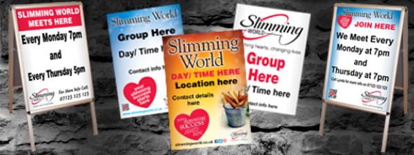 Custom Slimming World Posters